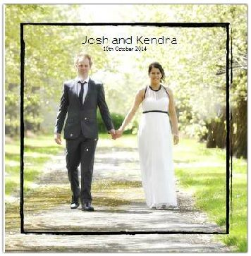 Example Wedding Album - Ballarat Photography
