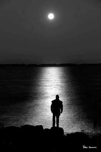 Ballarat Photography super moon self portrait