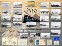 1956 Olympic Games Lake Wendouree Rowing Canoe