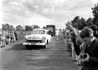 Olympic Torch 1956 Relay Ballarat to Geelong, Meredith