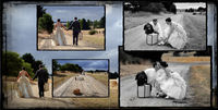 Vintage Wedding Photography, Garden Party Wedding
