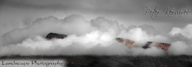 Ballarat Photography, Tourism Halls Gap, Grampians National Park, Mt William in Fog