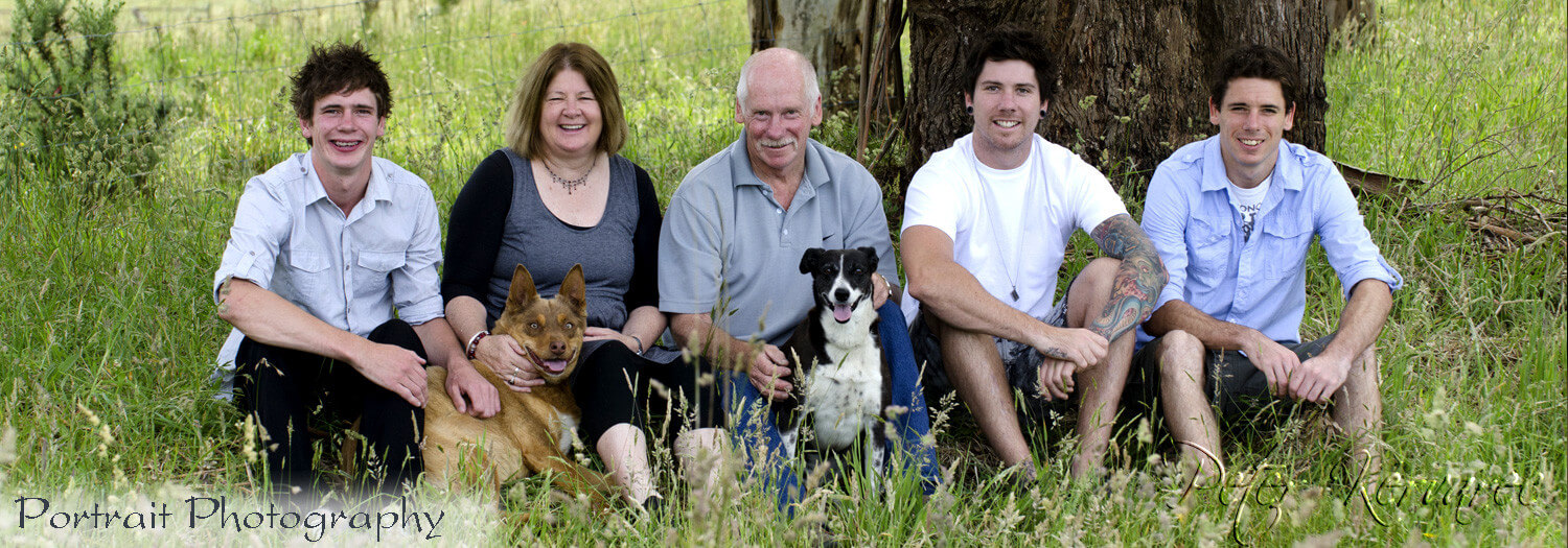 Family Photography, Portrait Photography, Bush Setting, outdoor Photography, Ballarat