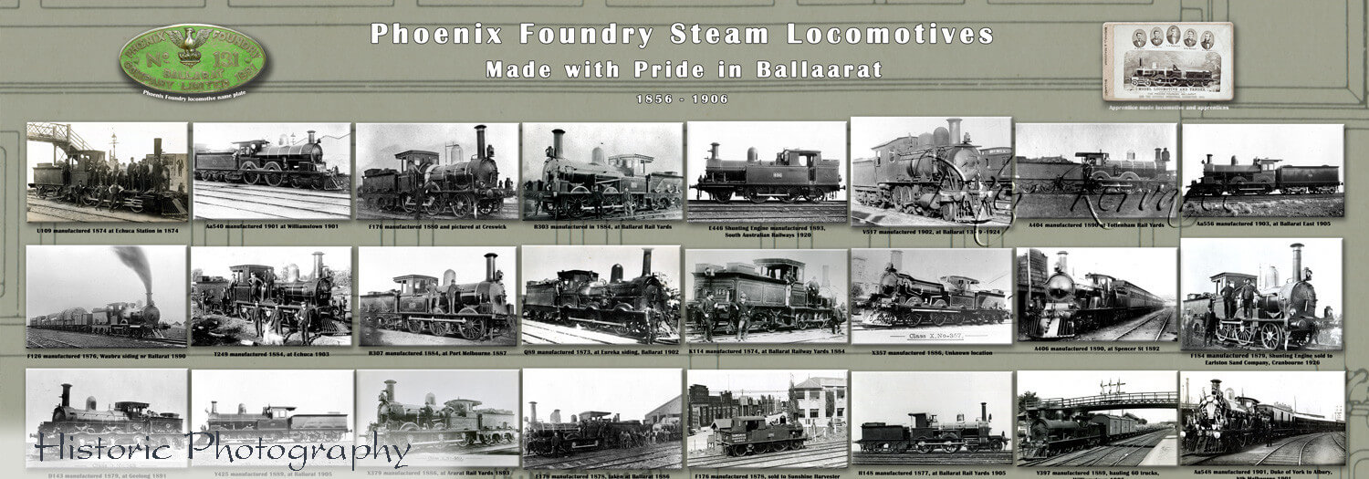 Phoenix Foundry, Ballarat Locomotives, Made in Ballarat, Ballarat Photography